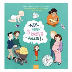 Clavis 'Kriebels in je buik' Informatief Leesboek Hier komen baby's vandaan
