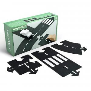 Waytoplay Flexibele Autobaan - Snelweg (24 stukken)