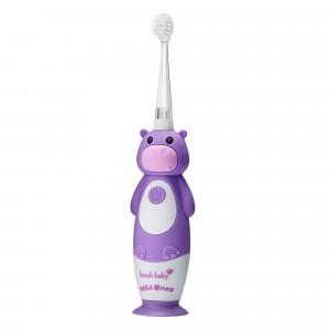Brush Baby Wild Ones Elektrische Tandenborstel (0-10 jaar) Hippo