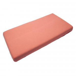 Timboo Hoeslaken Apricot Blush 60 x 120 cm
