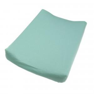 Mundo Melocoton Hoes aankleedkussen Organic Celadon