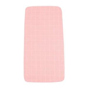 Mundo Melocoton Hoeslaken Tetra Eén-persoons Roze 90 x 200 cm