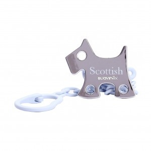 Suavinex Speenketting Scottish Bleu Hondje