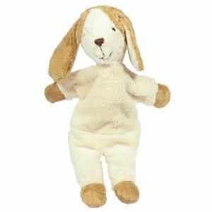Senger Baby Knuffelbeer Hond Wit-Beige