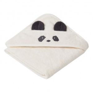 Liewood Badcape Baby Panda Creme