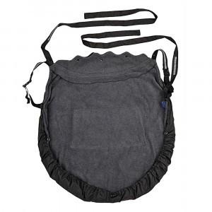 Hoppediz Fleece Cover 3-in-1 Antraciet