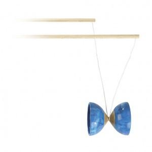 Janod Houten Diabolo Blauw
