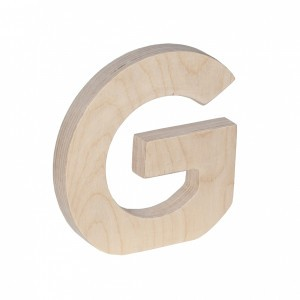 Trixie Houten Letter G