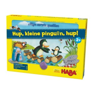Haba Spel Hup, kleine pinguïn, hup!