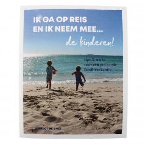 Lannoo Boek Mama Baas 'Ik ga op reis en ik neem mee... de kinderen!'