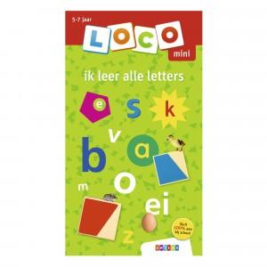 Zwijsen Oefenboekje Loco Mini 'Ik leer alle letters'