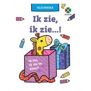Selecta Kleurboek Ik zie, ik zie,...!