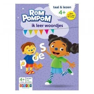 Rompompom Oefenboekje - Ik leer woordjes