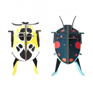 Studio Roof 3D Insects - Lady Beetles (2 stuks)