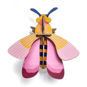 Studio Roof 3D Insects - Pink Bee