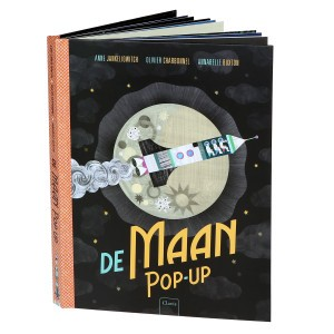 Clavis Interactief Boek De Maan Pop-up