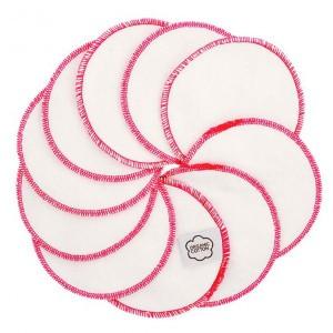 Imse Vimse Wasbare Gezichtsreinigingsdoekjes Roze Stitches