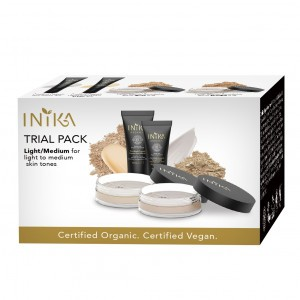Inika Organic Trial Kits - Light/Medium