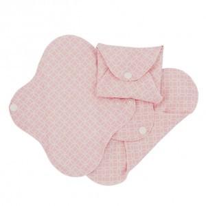 Imse Vimse Wasbaar Inlegkruisje (3-pack) Roze