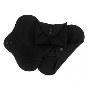 Imse Vimse Wasbaar Inlegkruisje (3-pack) Zwart