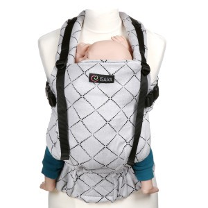 Isara Toddler Diamonda Silver Gray