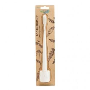 Nfco Bio Tandenborstel met houder - Wit