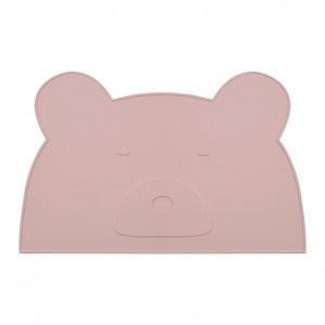 Liewood Silicone Placemat Mr. Bear Rose