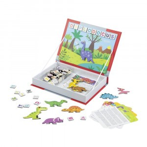 Janod Magneetboek 'Dino'