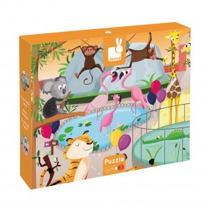 "Janod Puzzel "" A Day at the Zoo """