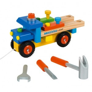 Janod Brico'Kids DIY Vrachtwagen