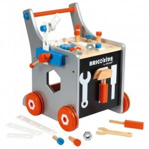 Tweede Kans product - Janod Magnetische DIY Loopwagen Brico'Kids