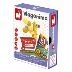 Janod Mini Spel Wagonimo