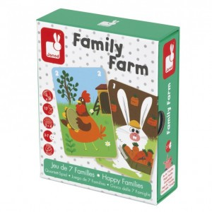 Janod Mini Spel Family Farm