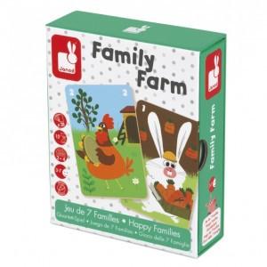 Janod Mini Spel Family Farm