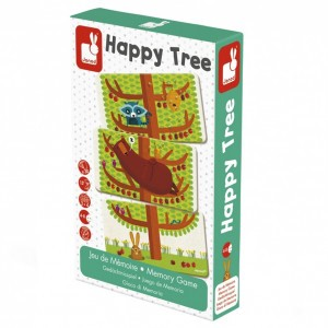 Janod Geheugenspel Happy Tree