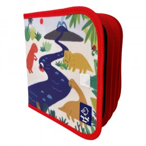 Jaq Jaq Bird Krijtboekje 'Dinos'