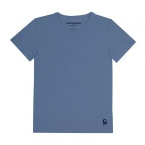 Mambotango T-shirt korte mouwen Jeans Blauw