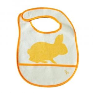 JJ Rabbit Slabbetje Konijn Oranje