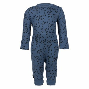 nOeser Newborn Jumpsuit Blauw