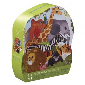 Crocodile Creek Vloerpuzzel Jungle Friends (36 stukken)