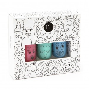 Nailmatic Set van 3 nagellakjes Jungle (Kitty, Rio, Freezy)