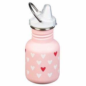 Klean Kanteen Drinkfles Kind met drinktuit 354ml Milennial Hearts