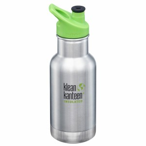 Klean Kanteen Thermische Drinkbus Kind Insulated Sport Cap 354ml Brushed Stainless