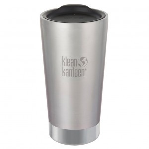 Klean Kanteen Thermische Koffiebeker (473 ml) Brushed Stainless