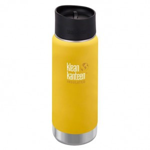 Klean Kanteen Thermos Wide Stainless Café Cap (473 ml) Lemon Curry