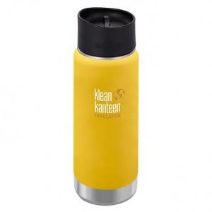Klean Kanteen Thermos Wide Stainless Café Cap (473 ml) Lemon Curry