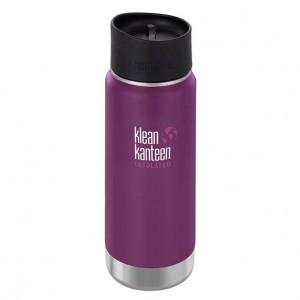 Klean Kanteen Thermos Wide Stainless Café Cap (473 ml) Winter Plum