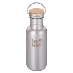 Klean Kanteen Drinkfles Reflect - Brushed Stainless (532 ml)