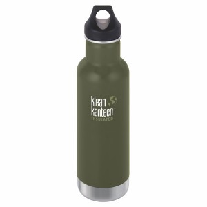 Klean Kanteen Drinkfles Insulated Classic Loop Cap (592 ml) Fresh Pine