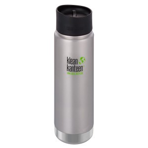 Klean Kanteen Thermos Wide Stainless Café Cap (592 ml) Brushed Stainless